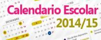 Calendario Escolar 2014/2015